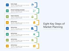 Eight Key Steps Of Market Planning Ppt PowerPoint Presentation Professional Designs PDF