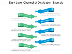 Eight Level Channel Of Distribution Example Ppt PowerPoint Presentation Styles Background PDF