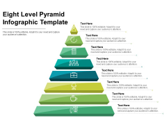 Eight Level Pyramid Infographic Template Ppt PowerPoint Presentation Outline Format PDF