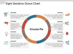 Eight Sections Donut Chart Ppt PowerPoint Presentation Gallery Objects PDF