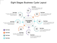 Eight Stages Business Cycle Layout Ppt PowerPoint Presentation Show Graphics Download