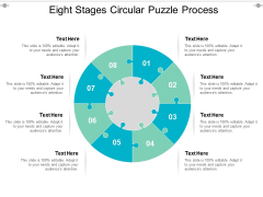 Eight Stages Circular Puzzle Process Ppt PowerPoint Presentation Inspiration Graphics Pictures