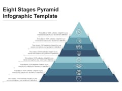 Eight Stages Pyramid Infographic Template Ppt PowerPoint Presentation Professional Aids PDF