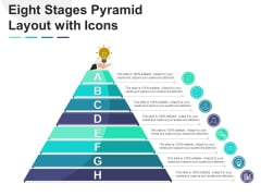 Eight Stages Pyramid Layout With Icons Ppt PowerPoint Presentation Slides Gridlines PDF