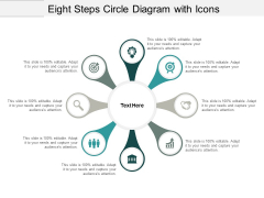 Eight Steps Circle Diagram With Icons Ppt PowerPoint Presentation Inspiration Shapes