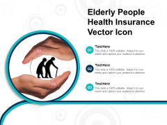 Elderly People Health Insurance Vector Icon Ppt PowerPoint Presentation Styles Picture PDF