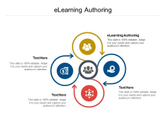 Elearning Authoring Ppt PowerPoint Presentation Outline Background Cpb Pdf