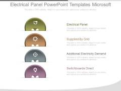 Electrical Panel Powerpoint Templates Microsoft