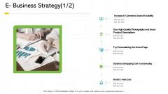 Electronic Enterprise Ebusiness Administration E Business Strategy Lists Mockup PDF