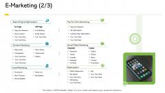 Electronic Enterprise Ebusiness Administration E Marketing Off Elements PDF
