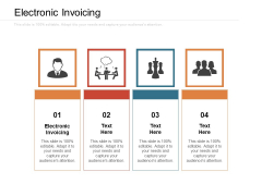 Electronic Invoicing Ppt PowerPoint Presentation Inspiration Microsoft Cpb Pdf