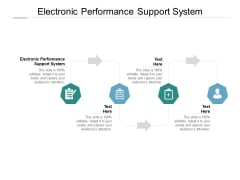 Electronic Performance Support System Ppt PowerPoint Presentation Infographic Template Slides Cpb Pdf