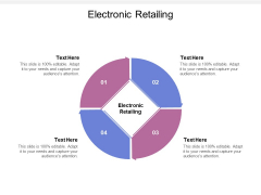 Electronic Retailing Ppt PowerPoint Presentation Model Ideas Cpb