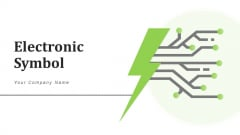 Electronic Symbol Data Protection Security Ppt PowerPoint Presentation Complete Deck