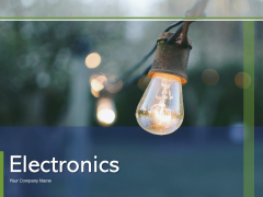 Electronics Energy Production Power Ppt PowerPoint Presentation Complete Deck
