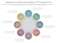 Elements For Hr Success Diagram Ppt Example File