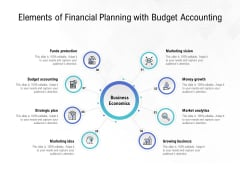 Elements Of Financial Planning With Budget Accounting Ppt PowerPoint Presentation Layouts Information