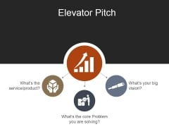 Elevator Pitch Template 1 Ppt PowerPoint Presentation Icon Slides