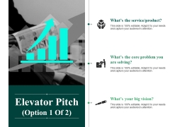 Elevator Pitch Template 1 Ppt PowerPoint Presentation Show Styles