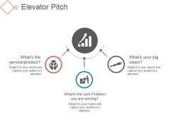 Elevator Pitch Template 2 Ppt PowerPoint Presentation Designs