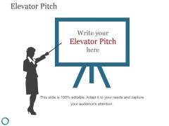 Elevator Pitch Template 3 Ppt PowerPoint Presentation Guide