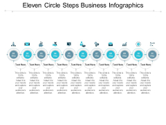 Eleven Circle Steps Business Infographics Ppt PowerPoint Presentation Layouts Example