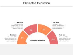 Eliminated Deduction Ppt PowerPoint Presentation Infographics Smartart Cpb Pdf