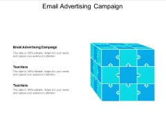 Email Advertising Campaign Ppt PowerPoint Presentation Portfolio Layout Ideas Cpb