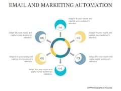 Email And Marketing Automation Ppt PowerPoint Presentation Design Templates