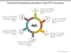 Email And Marketing Automation Tools Ppt Summary