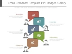 Email Broadcast Template Ppt Images Gallery