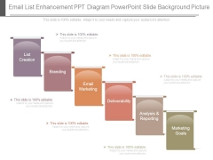 Email List Enhancement Ppt Diagram Powerpoint Slide Background Picture