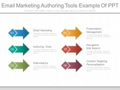 Email Marketing Authoring Tools Example Of Ppt