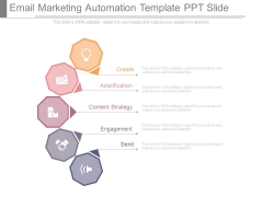 Email Marketing Automation Template Ppt Slide