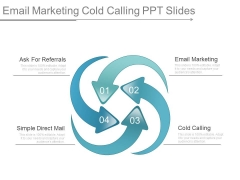 Email Marketing Cold Calling Ppt Slides