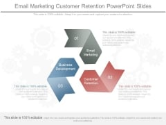 Email Marketing Customer Retention Powerpoint Slides