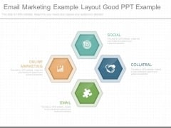 Email Marketing Example Layout Good Ppt Example