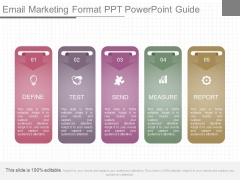 Email Marketing Format Ppt Powerpoint Guide