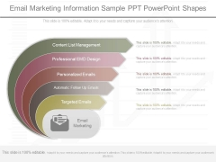 Email Marketing Information Sample Ppt Powerpoint Shapes