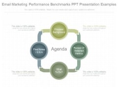 Email Marketing Performance Benchmarks Ppt Presentation Examples