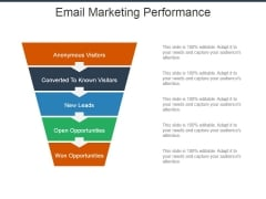 Email Marketing Performance Ppt Powerpoint Presentation Infographics Clipart