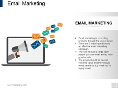 Email Marketing Ppt PowerPoint Presentation Ideas Diagrams