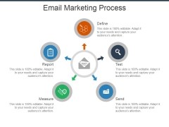 Email Marketing Process Ppt Powerpoint Presentation Show Visuals