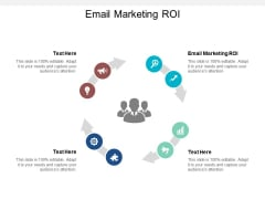 Email Marketing ROI Ppt PowerPoint Presentation Summary Format Cpb