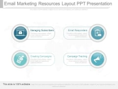 Email Marketing Resources Layout Ppt Presentation