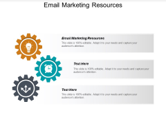 Email Marketing Resources Ppt PowerPoint Presentation File Aids Cpb