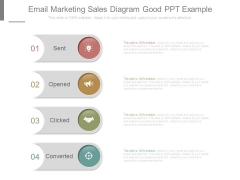 Email Marketing Sales Diagram Good Ppt Example