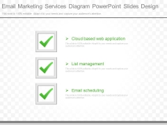 Email Marketing Services Diagram Powerpoint Slides Design