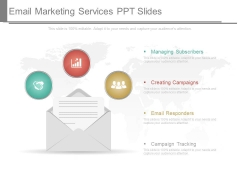 Email Marketing Services Ppt Slides