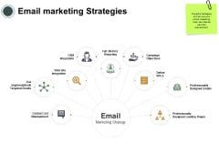 Email Marketing Strategies Ppt PowerPoint Presentation Icon Slide Download